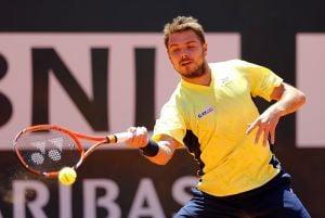 Atp Roma : Haas sorprende Wawrinka, ok Murray