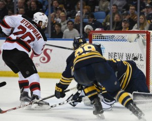 New Jersey Devils Shut Down Buffalo Sabres 2-0