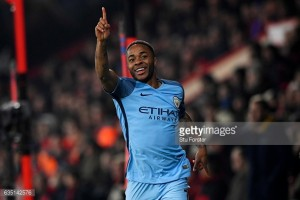 AFC Bournemouth 0-2 Manchester City: Sterling inspires Guardiola's men on the South Coast