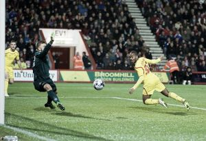 Bournemouth 1-3 Liverpool: Sterling scores twice as the Reds progress to the Semis of the Capital One Cup