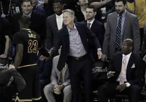 """Steve Kerr: """"Jugando así, no ganaremos en Cleveland"""""""