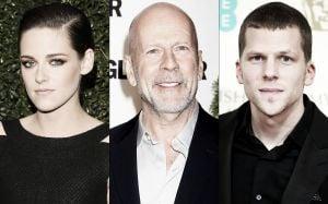 Kristen Stewart, Bruce Willis y Jesse Eisenberg, trío de estrellas para lo nuevo de Woody Allen