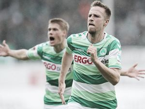 SpVgg Greuther Fürth 3-0 Fortuna Düsseldorf: Shamrocks smash Fortuna for vital victory