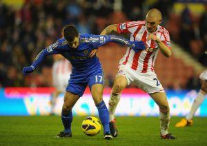 Stoke City - Chelsea: un partido de briega y lucha