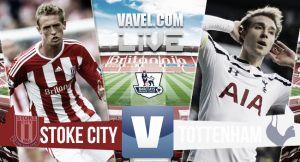 Resultado Stoke City vs Tottenham Hotspur en la Premier League 2015 (3-0)