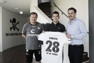 St. Pauli loan out Sobota again