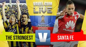 The Strongest se lleva la victoria 2 - 0 sobre Santa Fe