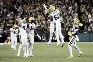 Sem dificuldades, Packers derrota Bears e segue campanha sólida na temporada