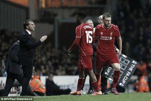 Liverpool's Daniel Sturridge could miss Sunday's FA Cup semi-final