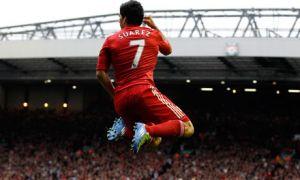 Luis Suarez offre la place de leader à Liverpool !