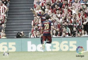 Athletic Bilbao 0-1 Barcelona: Luis Suárez's wonder strike gives Barcelona all three points