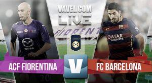 Fiorentina vs Barcelona en vivo y en directo online en la International Champions Cup 2015