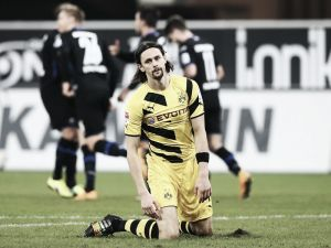 Paderborn 2-2 Borussia Dortmund: Plucky Paderborn come from two down to draw against BVB