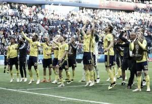 Sin minutos de Guidetti en la clasificación de Suecia para cuartos