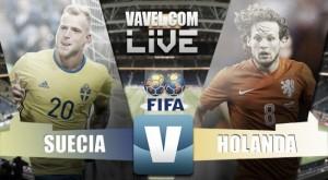 Partita Svezia - Olanda in diretta, LIVE Qualificazioni Russia 2018. Pareggio che sta stretto ai tulipani (1-1)
