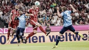 Com atuação da arbitragem de vídeo, Bayern supera Leverkusen na abertura da Bundesliga