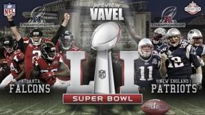 No jogo do ano, Falcons e Patriots duelam em busca do anel de campeão do Super Bowl LI