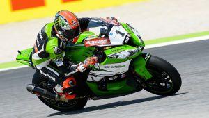 SBK Misano: doppietta Kawasaki con Sykes dominatore assoluto, Melandri 3°