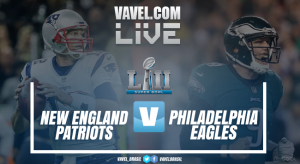 Resultado Super Bowl LII: Philadelphia Eagles x New England Patriots (41-33)