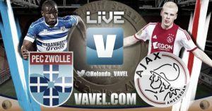 PEC Zwolle vs Ajax, Supercopa de Holanda en vivo y en directo online