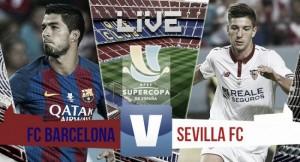 Live Barcellona - Siviglia, risultato Supercoppa di Spagna  (3-0): il Barça si prende il primo trofeo stagionale!
