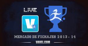Mercado de fichajes de fútbol de la Primera División Femenina 2013-2014