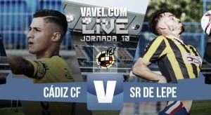 Resultado Cádiz - San Roque Lepe en Segunda B 2015 (1-1): Álvaro García saca de la UCI al Cádiz