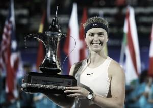 WTA Dubai: Elina Svitolina successfully defends her title with win over Daria Kasatkina