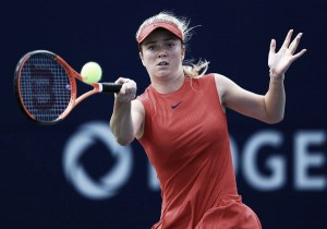 WTA Rogers Cup: Elina Svitolina pulls double duty to end Halep's title defence