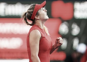 Elina Svitolina staying positive during Rogers Cup run