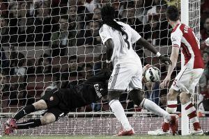 Doccia fredda per l'Arsenal: Gomis castiga e fa volare lo Swansea