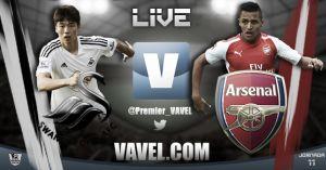 Swansea City vs Arsenal en vivo y en directo online