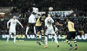 El Arsenal naufraga ante el Swansea