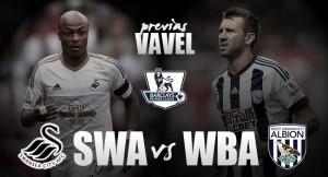 Swansea - West Brom: pensando en la permanencia