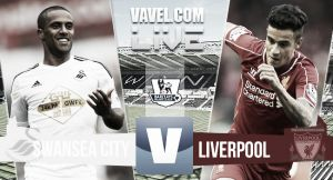 Score match Swansea vs Liverpool Live and EPL Scores 2015 (0-1)