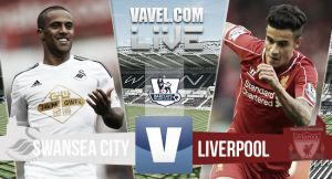 Resultado Swansea vs Liverpool en la Premier League 2015 (0-1)