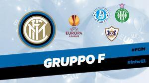 Europa League: Inter con Dnipro, Qarabag e Saint-Étienne