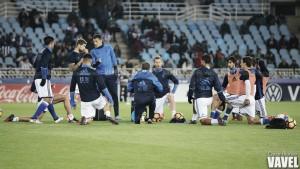 Plan de entrenamientos de cara al partido frente al Valencia