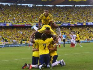 Tabla de posiciones de las eliminatorias sudamericanas al final de la fecha 14