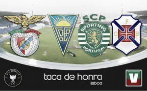 Taça de Honra, 1º jornada