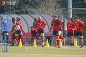 Benevento, a Udine senza Cataldi ma con entusiasmo