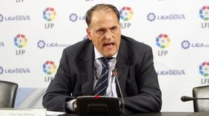 """Tebas: """"Barça y Espanyol no jugarían la Liga si se independiza Cataluña"""""""