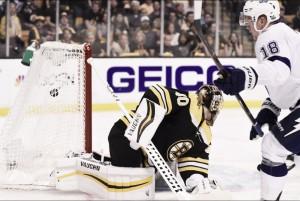 Tampa Bay storm Boston to take series lead 2-1.