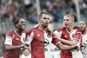 El Feyenoord gana en medio de un festival de tarjetas