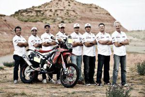 Dakar 2015: Honda, preparada para el asalto
