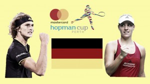 Hopman Cup: Star pairing Alexander Zverev and Angelique Kerber looks to grab the title for Germany