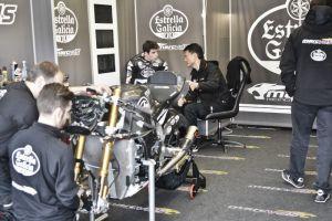 """Álex Márquez: """"Las condiciones no eran las ideales para probar la moto"""""""