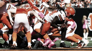 Los Browns siguen perdiendo pero mejoran