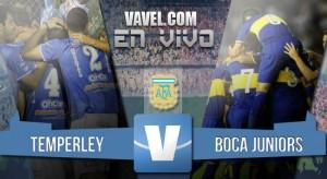 Resultado Temperley vs Boca Juniors en Liga 2016 (0-0)