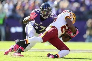 Washington Redskins win three-in-a-row with 16-10 win in Baltimore Ravens